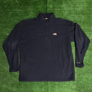 North Face TKA 100 Fleece Pullover 3/4 Zip